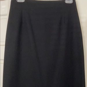 Ralph Lauren Purple label black wool pencil skirt